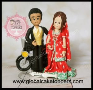 ethnic cake topper