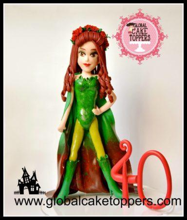 Poison Ivy Cake Topper