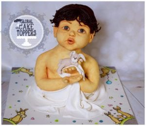 Easter theme Baby Sculpture