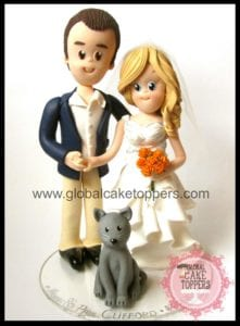 Pets Cake Topper
