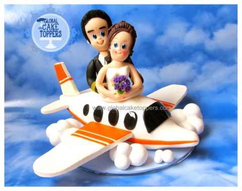 Aeroplane Cake Topper
