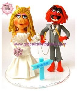 Unique Cake Toppers, Muppets Cake Toppers