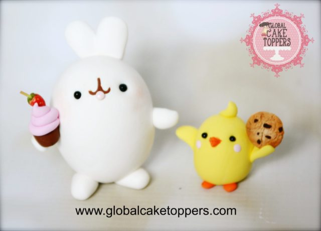 Molang Cake Topper