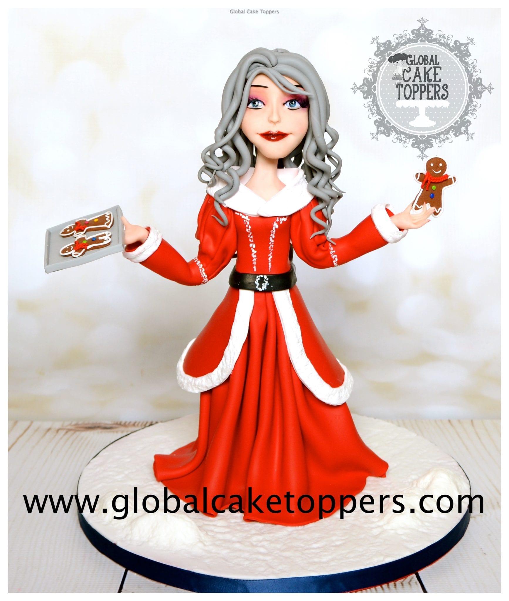 Christmas Cake Topper class