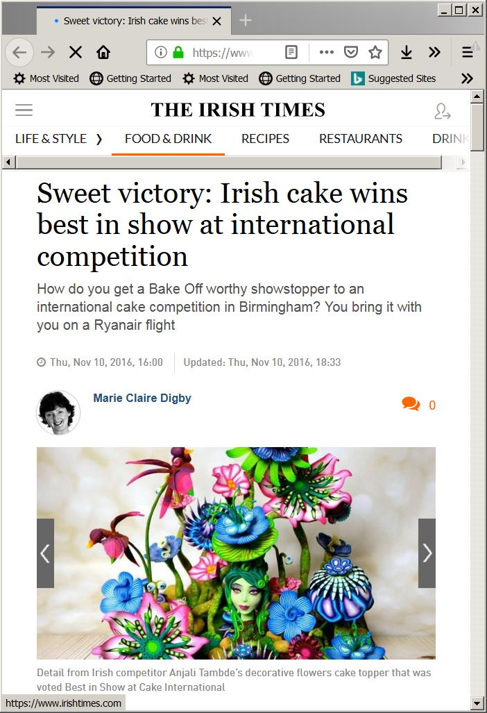 Cake International Winner