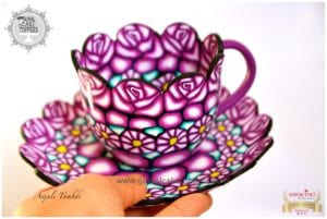teacup using sugarcraft class