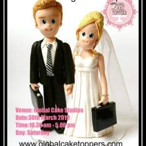 bride-groom modelling class
