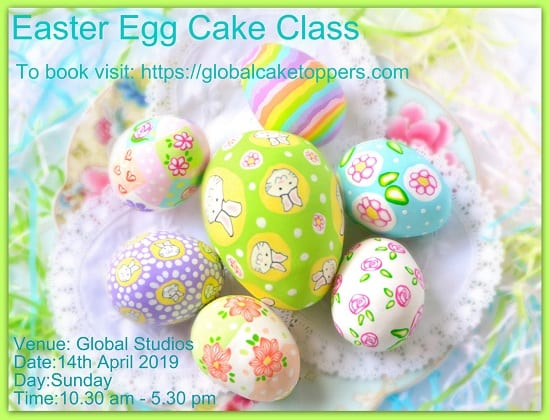 easter special sugarcraft workshop