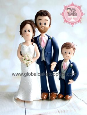Family Wedding cake topper in Ireland