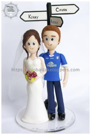 Wedding Cake Topper Kerry