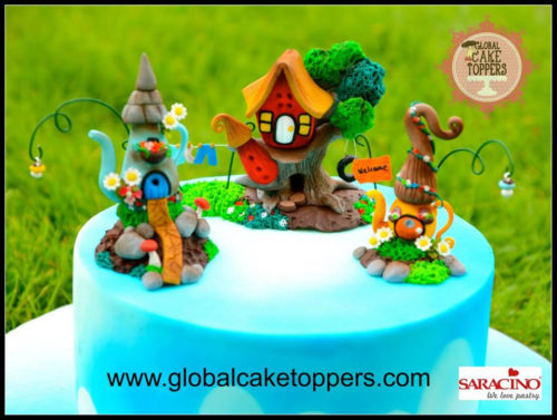 Fairy cottage sugarcraft class in dublin