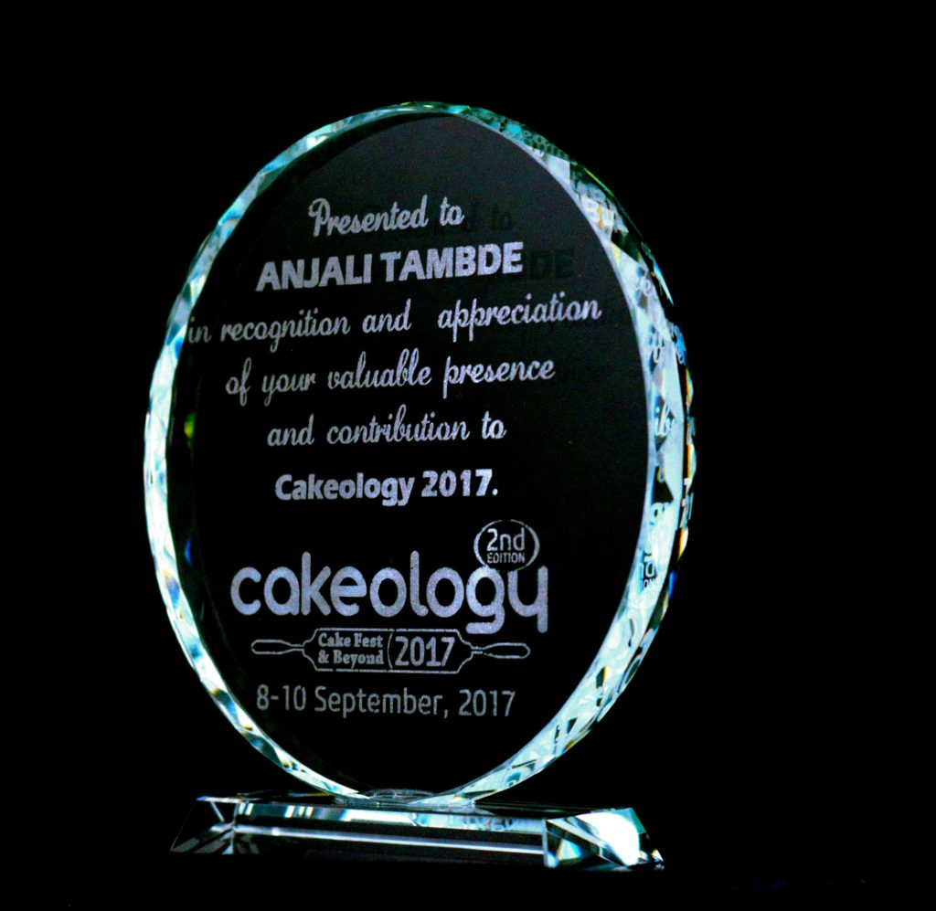 Cakeology Award for participation