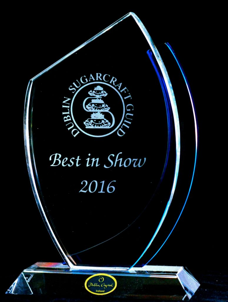 Irish Sugarcraft Show winner 2016
