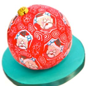 Santa baubal by sugarcraft classes