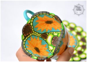 Sugarcraft Pattern teacup
