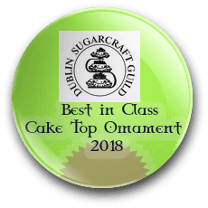 Irish Sugarcraft Cake Top Ornament Best in Class