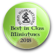 Irish Sugarcraft Best in Class 2018 award