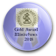 Irish Sugarcraft Miniatures Gold Award