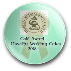 Irish Sugarcraft Gold Award in Novelty Cakes