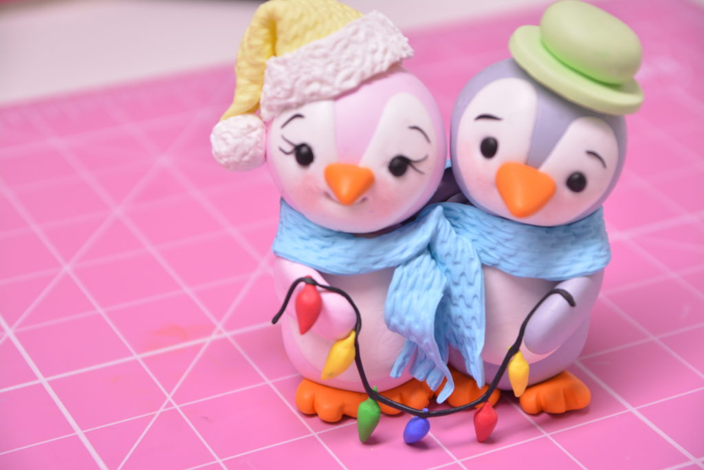 Little Penguin Figurine using sugarcraft