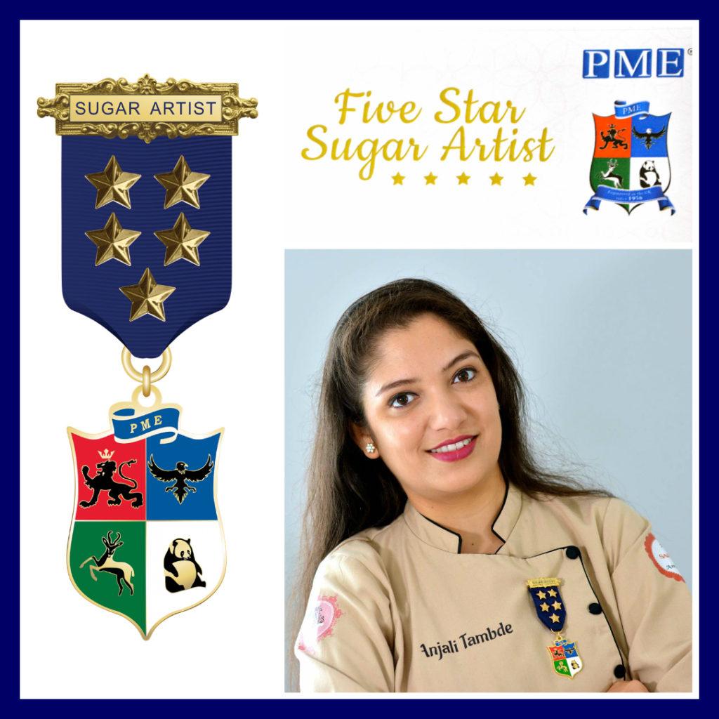 Five Star Sugar Artist by PME
