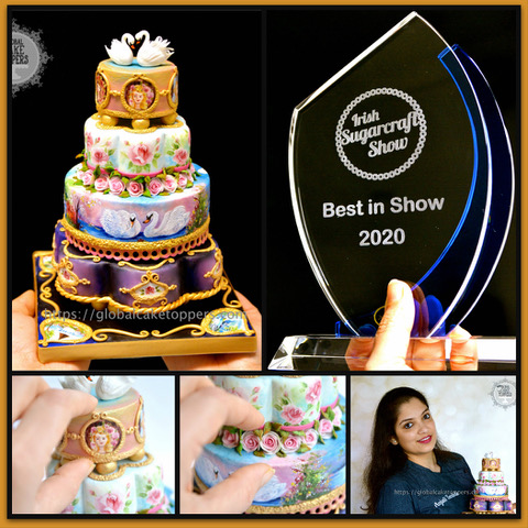 Irish Sugarcraft Show 2020 winner