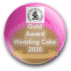 irish-sugarcraf-weddingcake-gold