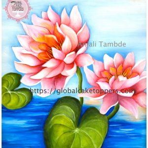 Water Lilly Painting