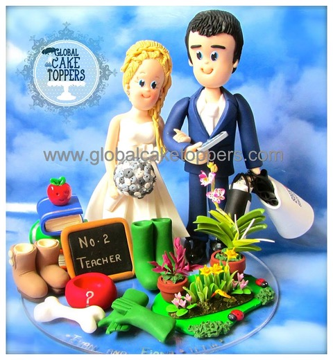 Profession Wedding Cake Topper