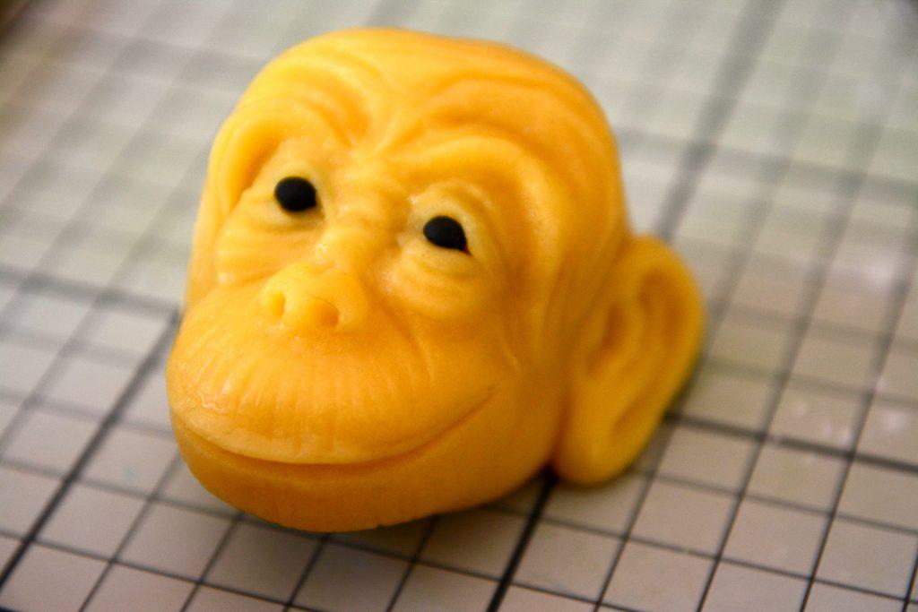 Marzipan Monkey Tutorial - Step 16